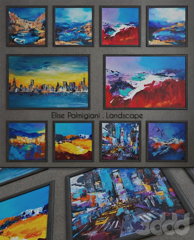 """Elise Palmigiani """"Landscape"""""""