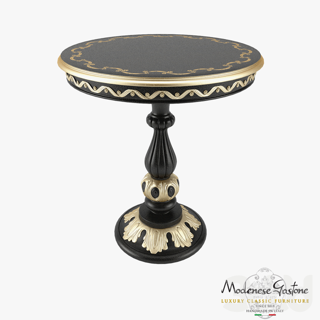 Round Coffee Table Modenese Gastone Art 12614
