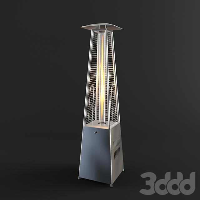 Pyramid Flame Heater