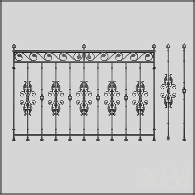 Кованный забор 2