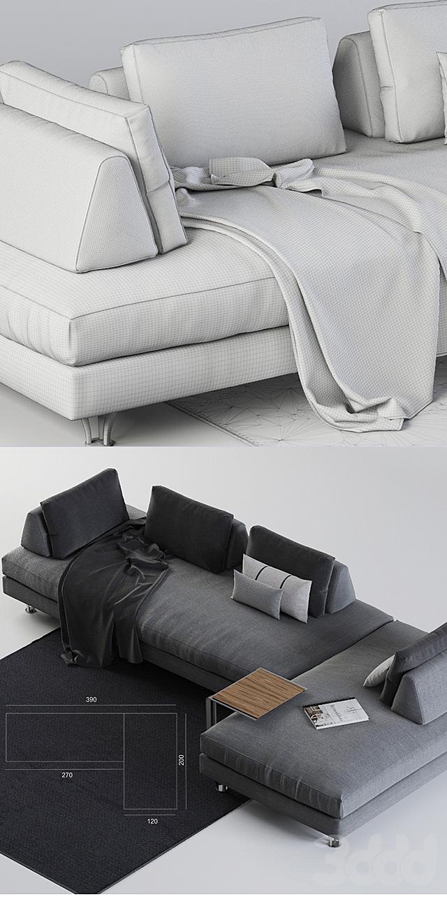 Модульный диван Dema Fly