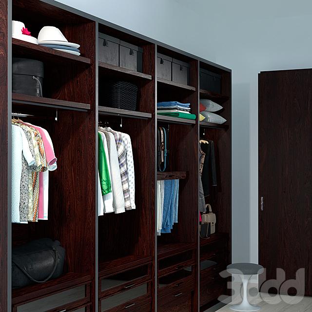 poliform wardrobe