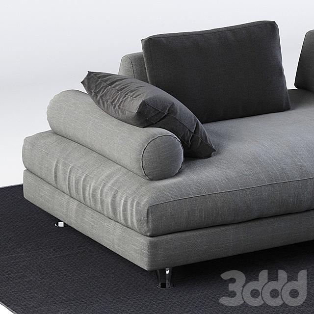 Модульный диван Dema Fly 2
