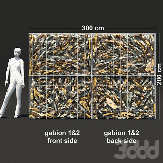 Gabion Flat Stone
