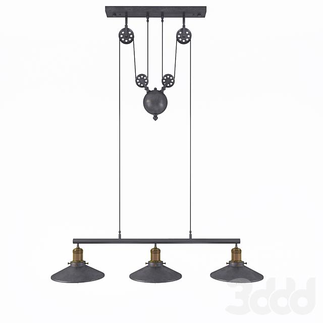 Люстра Loft Cone Pendant Balance Line 3