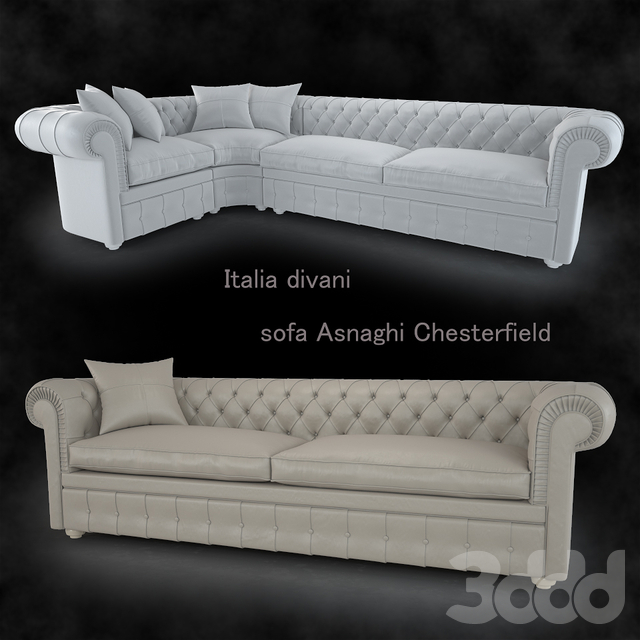 Диван Asnaghi Chesterfield