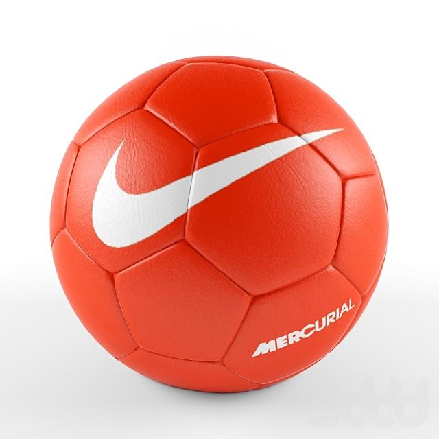 Football ball Nike orange