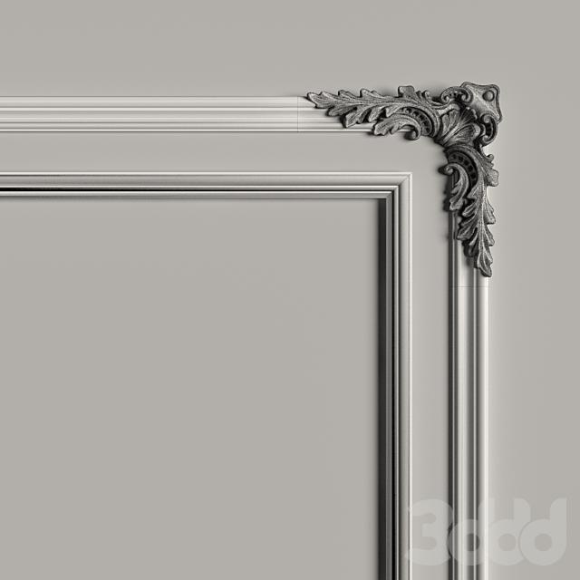 Декоративное зеркало №8
