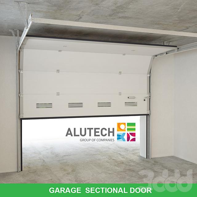 Garage sectional door