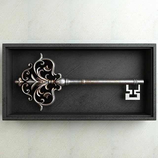 Antique Key 001