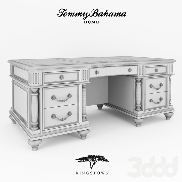 ADMIRALTY EXECUTIVE DESK  art. 619-936