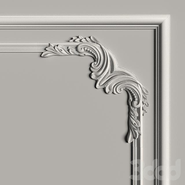 Декоративное зеркало №9