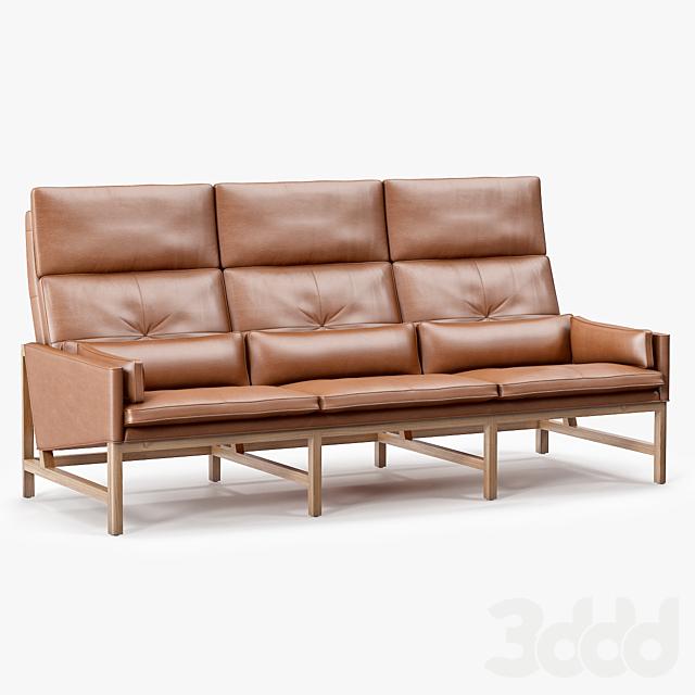 BassamFellows High Back Sofa