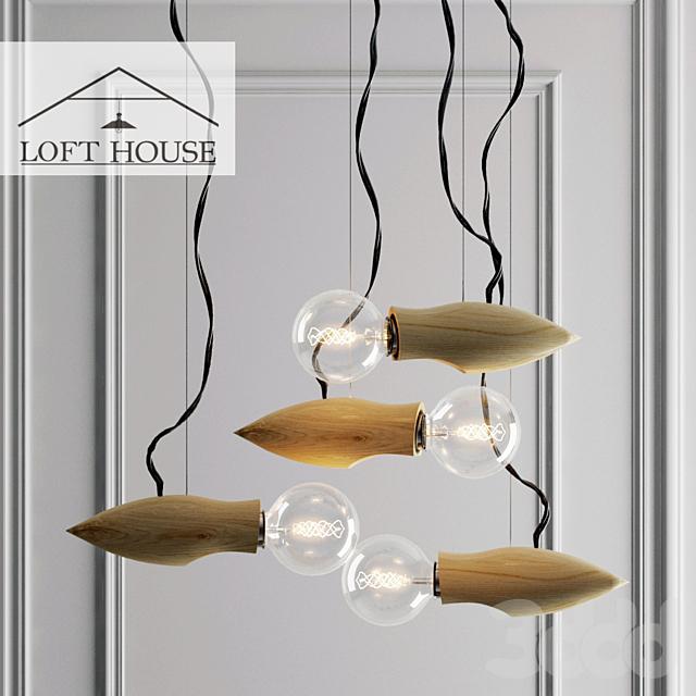 Светильник подвесной LOFT HOUSE P-174