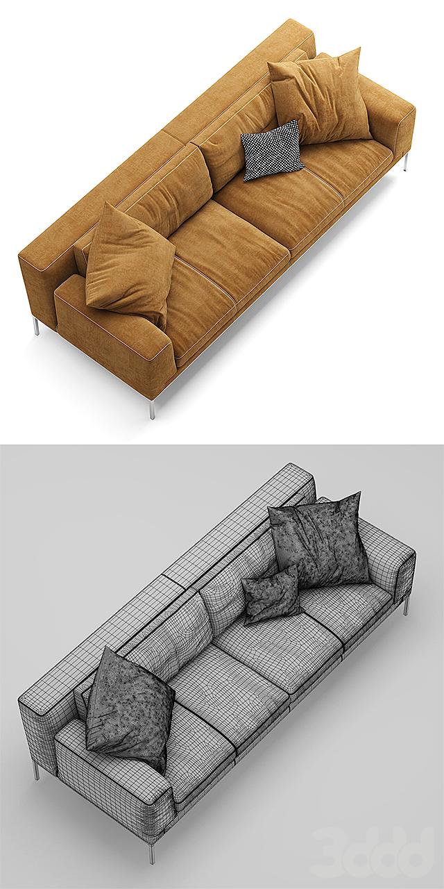 Диван ERBA ITALIA EDIZIONE Sectional sofa