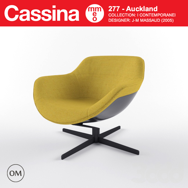 Cassina Auckland lowback chair