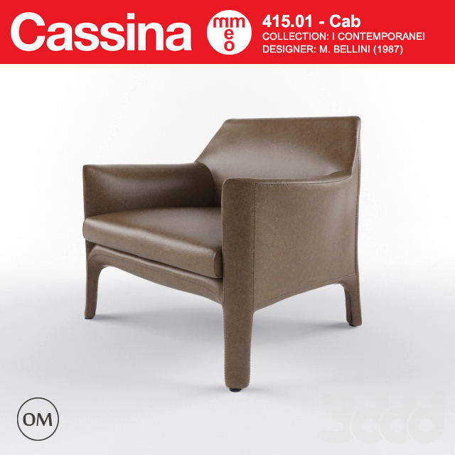 Cassina Cab lounge chair
