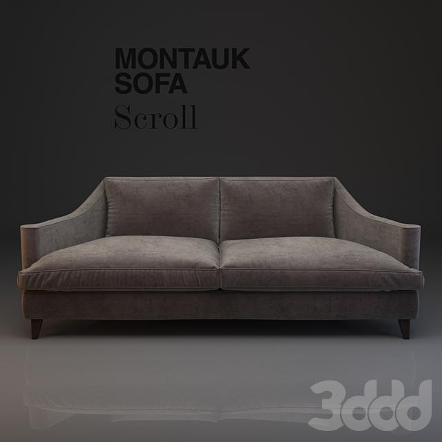 Montauk Sofa Scroll
