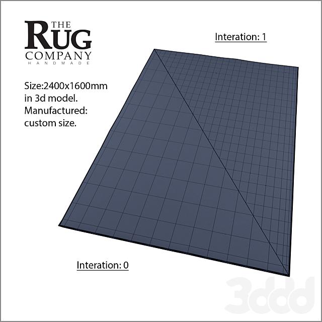 The Rug Company. Bamboo rugs set.