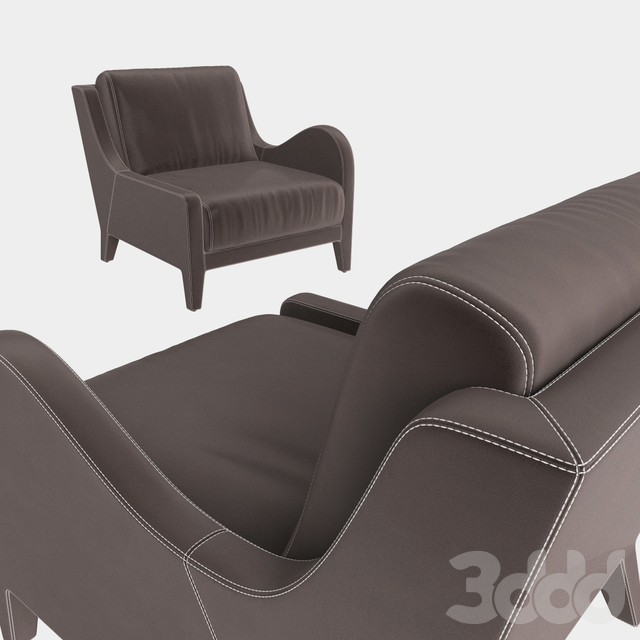 Flai armchair NOUVELLE VAGUE art 11518 DX