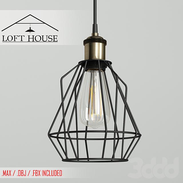 Светильник подвесной LOFT HOUSE P-61