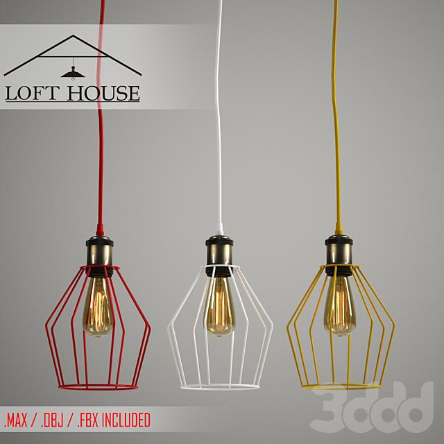 Светильник подвесной LOFT HOUSE P-69, P-69/1, P-69/2, P-69/3