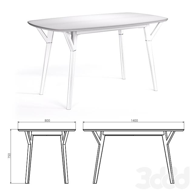 Обеденный стол PROSO от THE IDEA