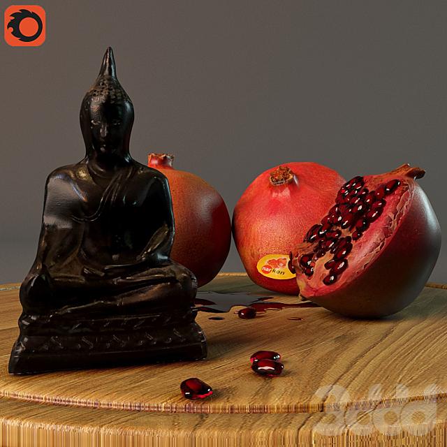 Гранатовый Будда
