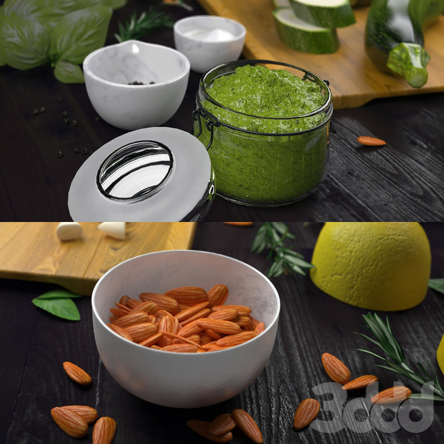 Декор с овощами