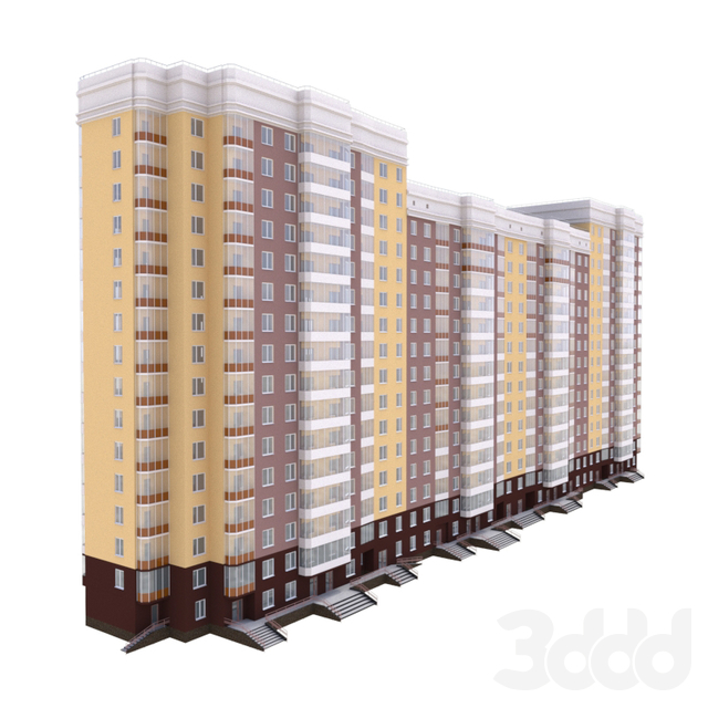 16-ти этажное, жилое здание