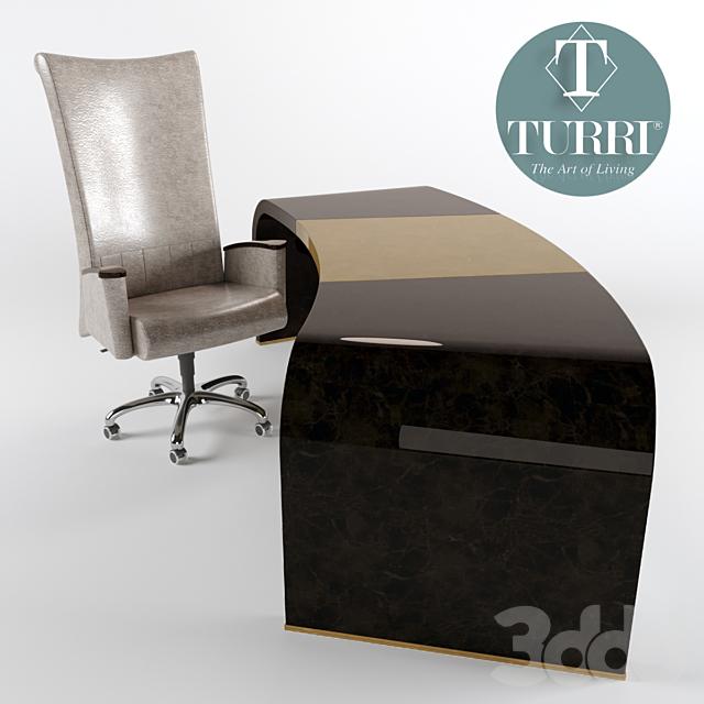 Стол и кресло Turri