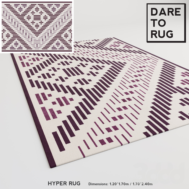 HYPER rug by DARE TO RUG