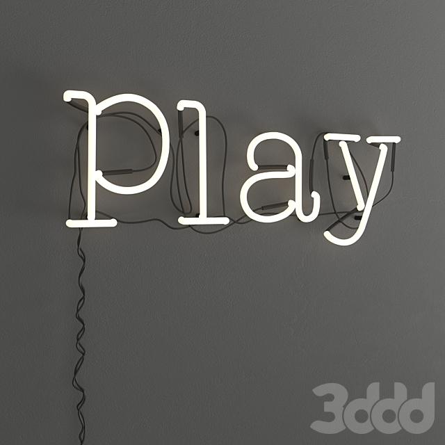 "NEON ""Play"""