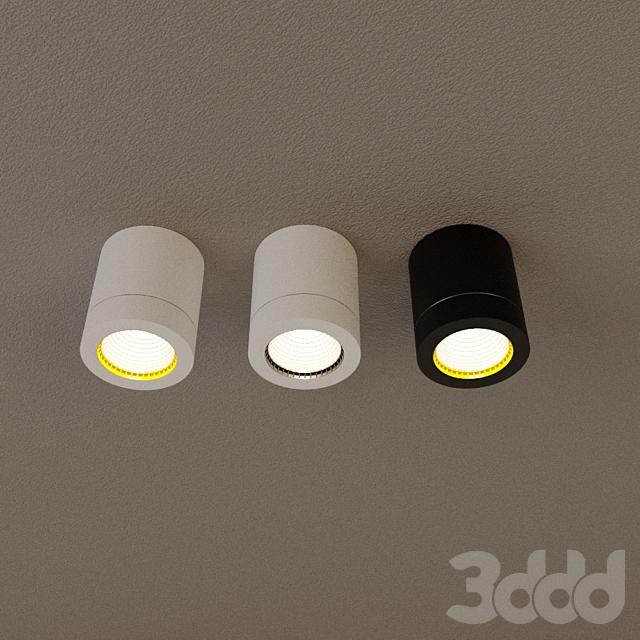 """Накладной светильник D-003BW60 """"Малый тубус"""""""