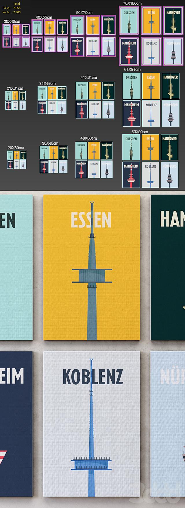 City Print collection set-01