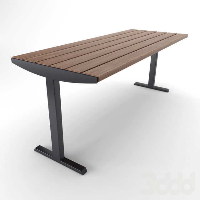 Стол и скамья mmcite VERA SOLO