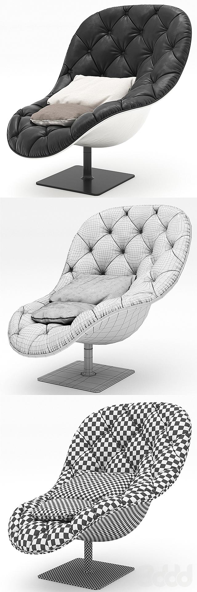 Moroso Bohemian, armchair