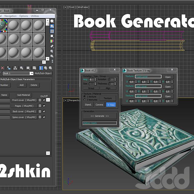 Book generator v0.2