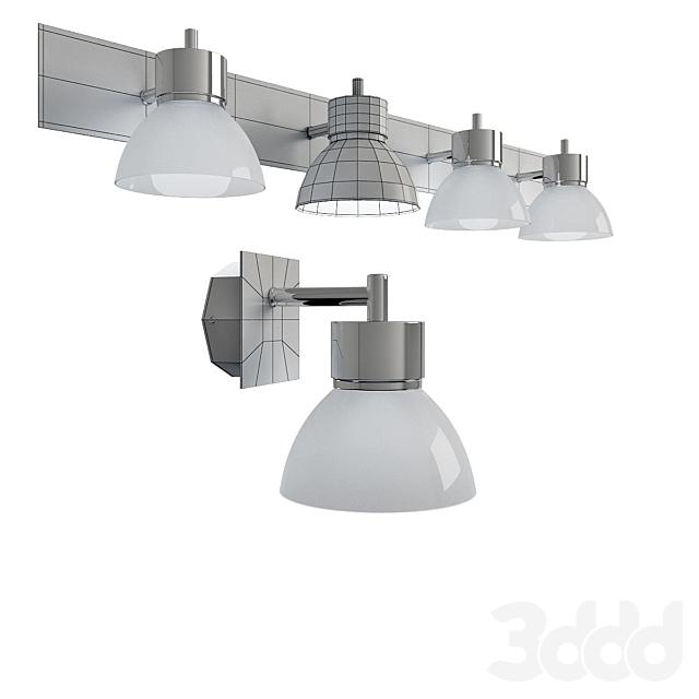 Настенные светильники для ванной комнаты, модель RIO, от  компании MARKSLOJD, Швеция.