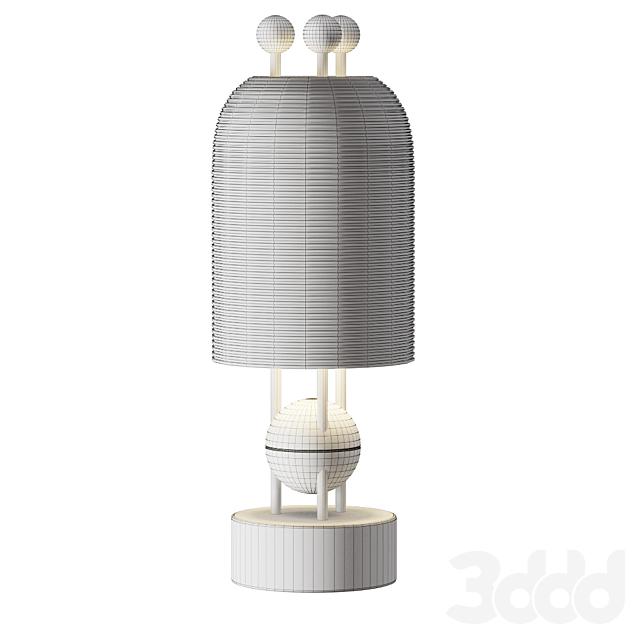 Apparatus Lantern table lamp