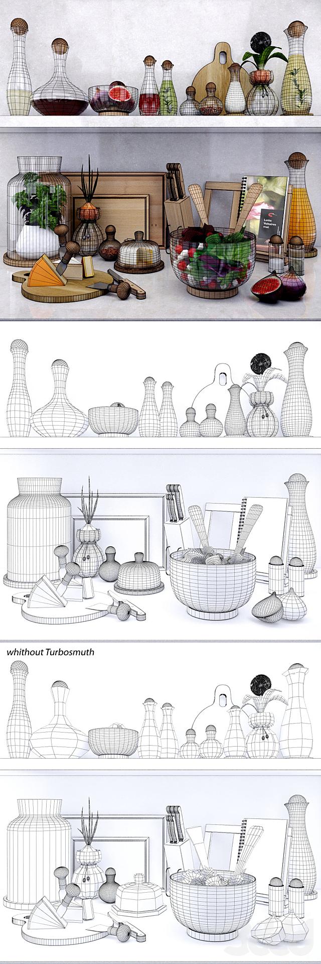 Kitchen set by Sagaform