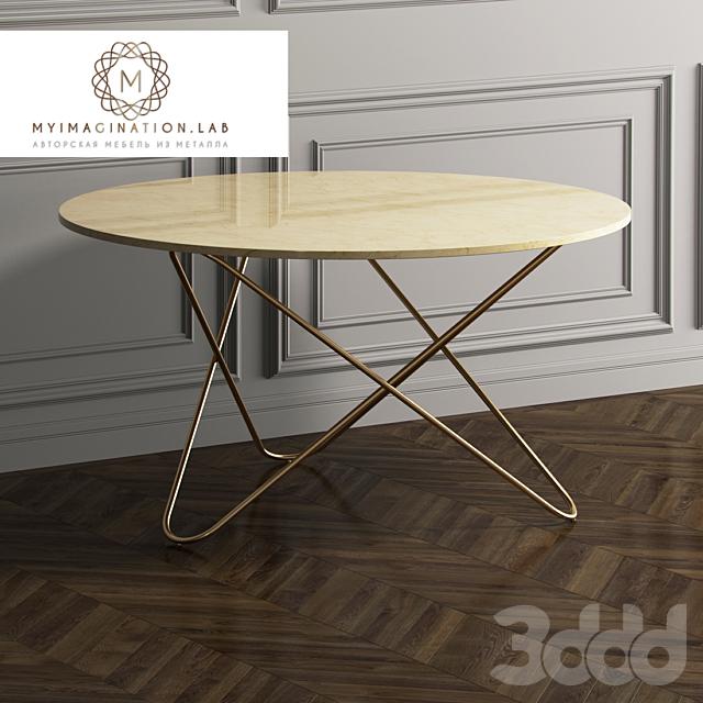 Обеденный стол от Myimagination.lab