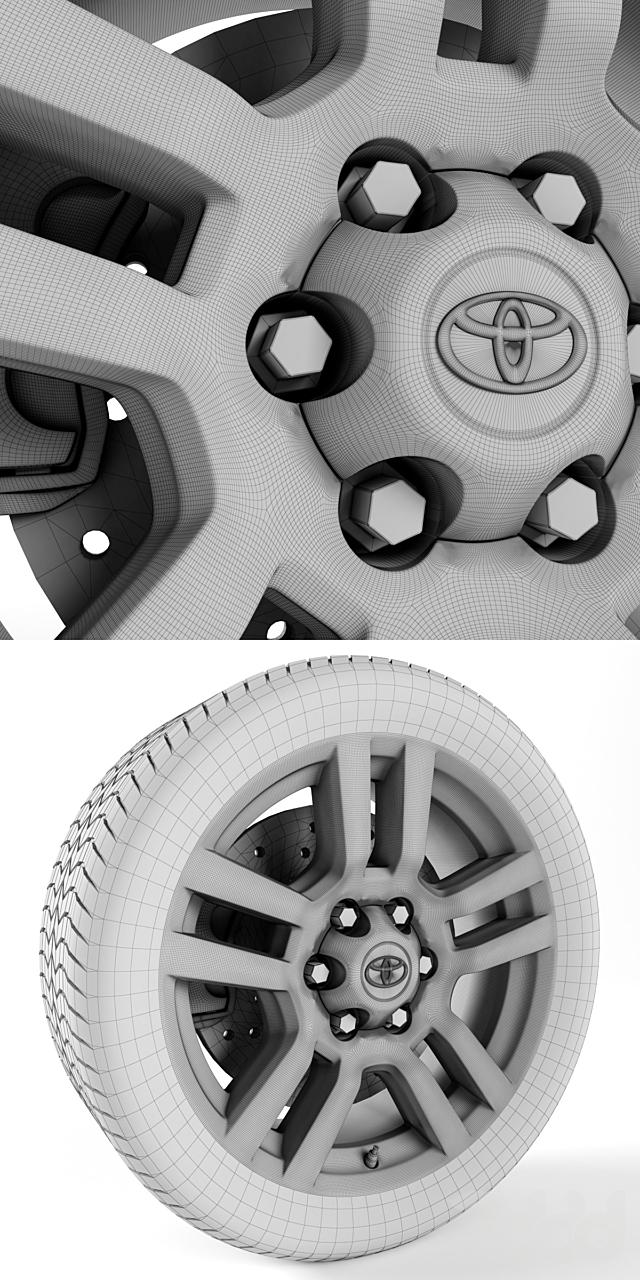 Toyota Land Cruiser Prado Wheel