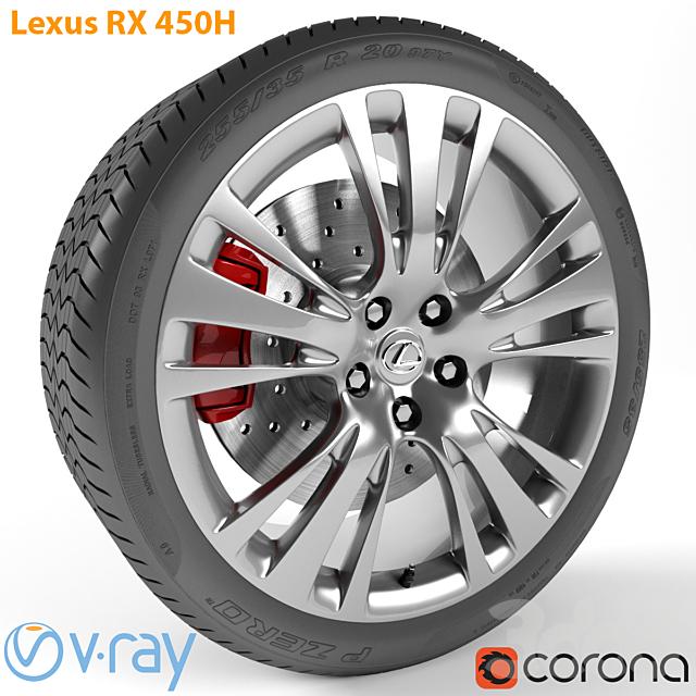 Lexus RX 450h Колесо