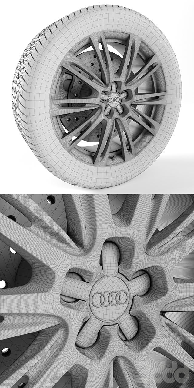 Audi A8 Колесо