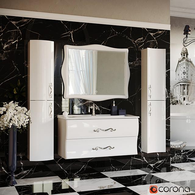 Комплект мебели для ванной Аметист