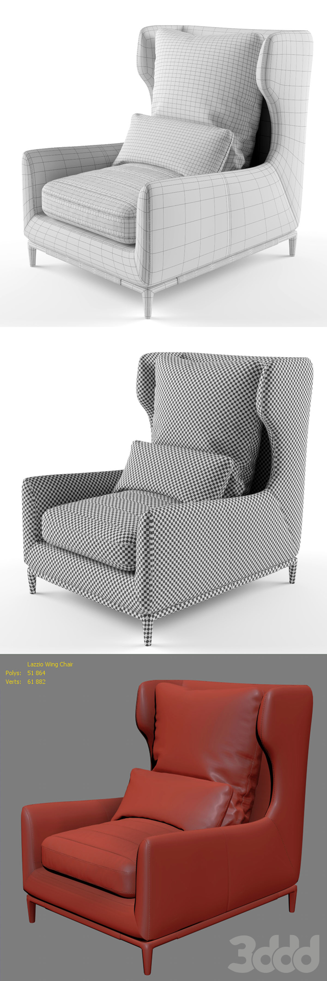 Lazzio Wing Chair