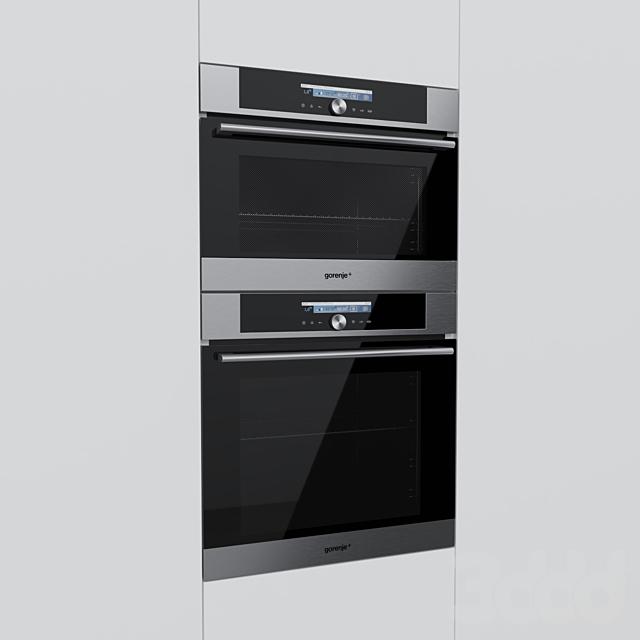 Gorenje Plus - духовой шкаф GO778X и компактный духовой шкаф GOM711X