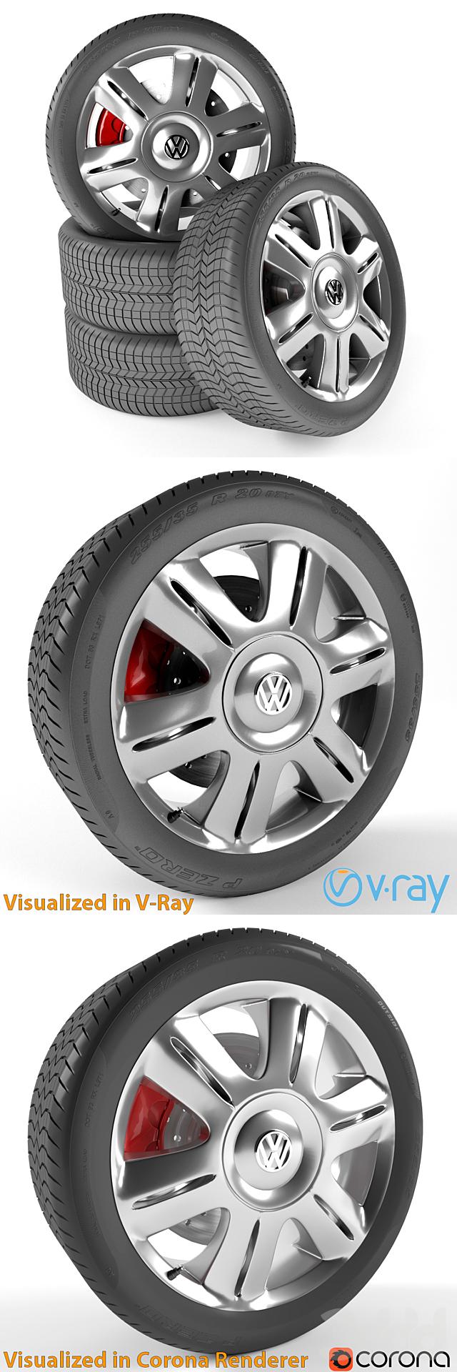 Volkswagen Passat Колесо