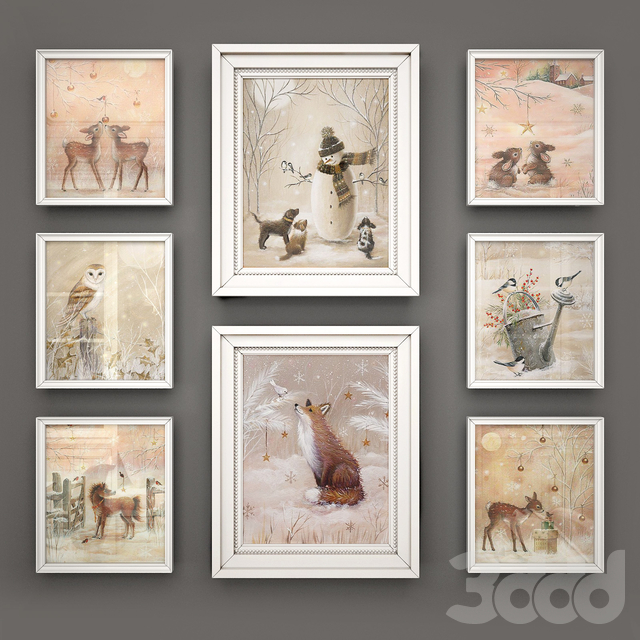 Набор картинок для детской от Sarah Summers